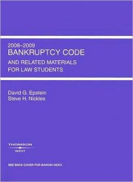 Bankruptcy Code and Related Materials for Law Students