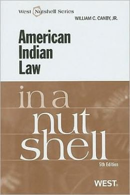 American Indian Law in a Nutshell, 5th