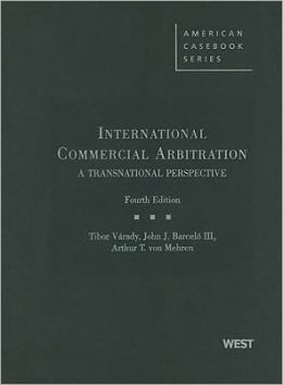 International Commercial Arbitration, A Transnational Perspective