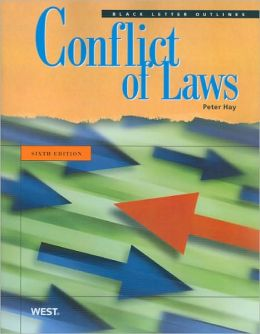 Black Letter Outline on Conflict of Laws, 6th