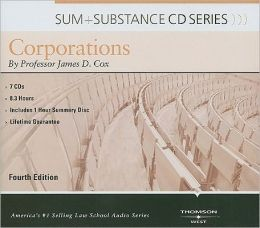Cox's Sum and Substance Audio on Corporations