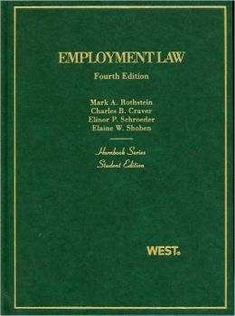 Hornbook on Employment Law