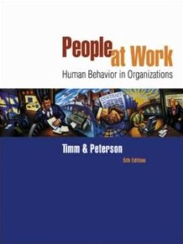 People at Work: Human Behavior in Organizations