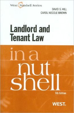 Landlord and Tenant Law in a Nutshell, 5th