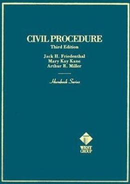 Hornbook on Civil Procedure