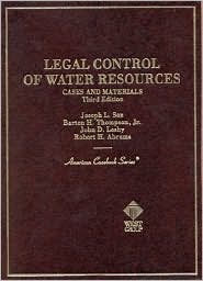 Legal Control of Water Resources:Cases and Materials