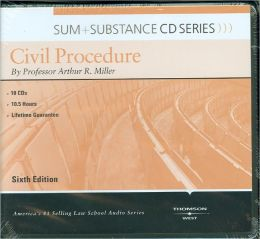 Sum and Substance Civil Proc 6th