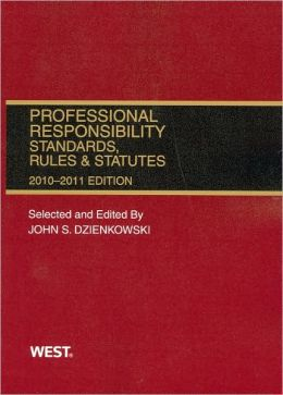 Professional Responsibility, Standards, Rules and Statutes, 2009-2010