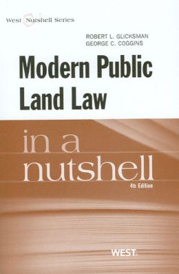 Modern Public Land Law in a Nutshell, 4th