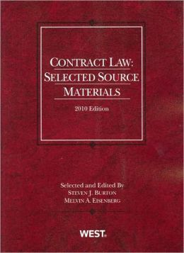 Contract Law:Selected Source Materials 2010