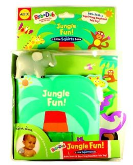 Jungle Fun!: Bath Book & Squirting Tub Toy