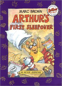 Arthur's First Sleepover (Arthur Adventures Series)