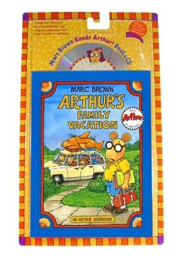 Arthur's Family Vacation: Book & CD