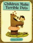 Book Cover Image. Title: Children Make Terrible Pets, Author: Peter Brown