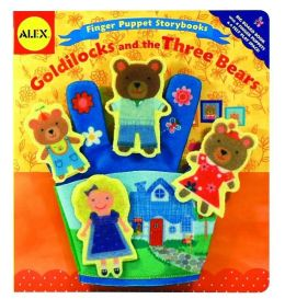 Alex Toys Finger Puppet Storybooks: Goldilocks and the Three Bears