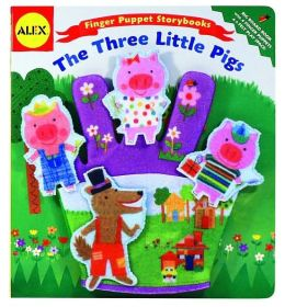 Alex Toys Finger Puppet Storybooks: The Three Little Pigs