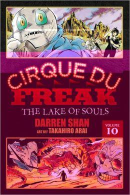 Cirque Du Freak Manga, Vol. 10: The Lake of Souls