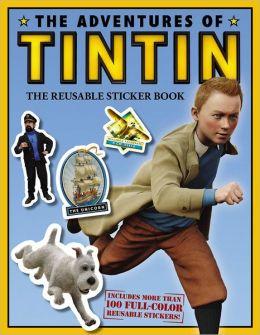 The Adventures of Tintin: The Reusable Sticker Book