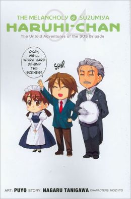 The Melancholy of Suzumiya Haruhi-chan, Volume 4