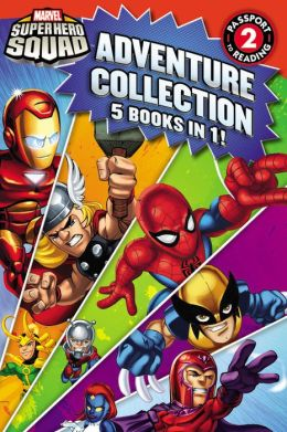 Super Hero Squad Adventure Collection