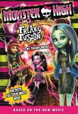 Book Cover Image. Title: Monster High:  Freaky Fusion The Junior Novel, Author: Perdita Finn