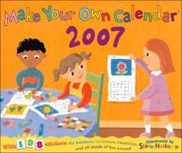 2007 Make Your Own Wall Calendar