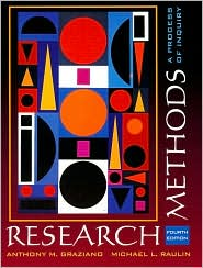 Research Methods: A Process of Inquiry
