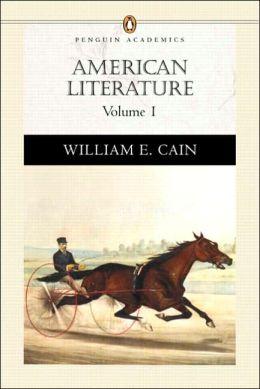 American Literature (Penguin Academics Series)