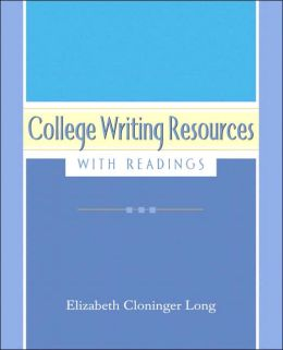 College Writing Resources with Readings