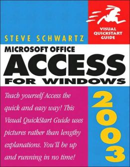 Access X for Windows: Visual QuickStart Guide
