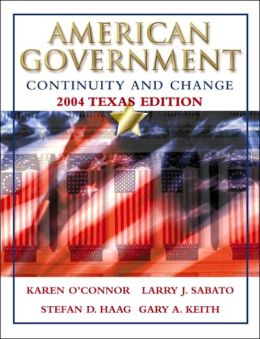 American Government: Continuity and Change, 2004 Texas Edition, with LP.com 2.0