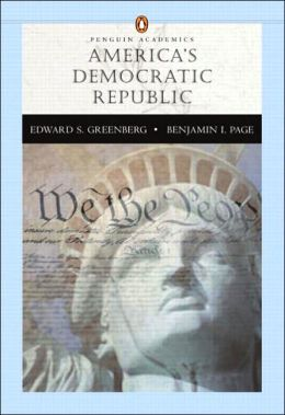 Americas Democratic Republic (Penguin Academic Series) W/L P. COM 2.0