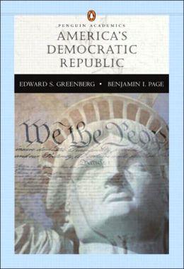 Americas Democratic Republic (Penguin Academic Series) W/L P. COM 2.0