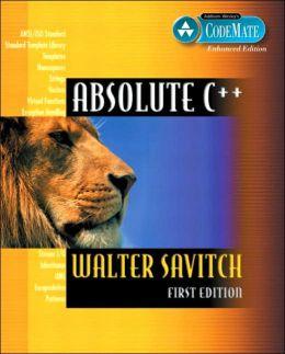 Absolute C++, Visual C++. NET Edition (CodeMate Enhanced)