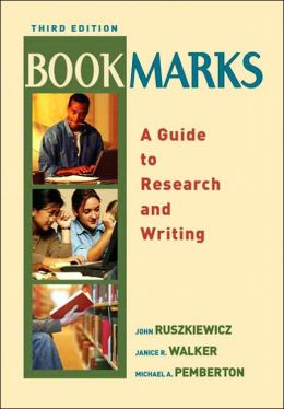 Bookmarks: A Guide to Research and Writing