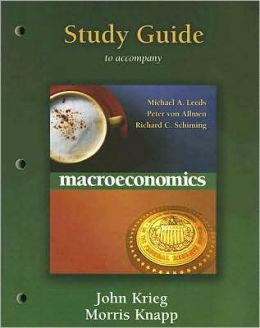 Macro Study Guide for Macroeconomics MyEconLab Homework Edition plus Themes of the Times booklet
