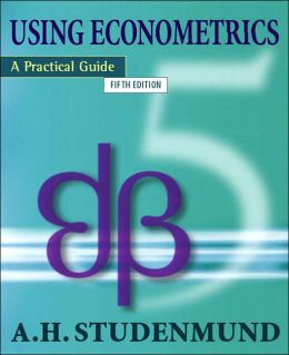 Using Econometrics: A Practical Approach