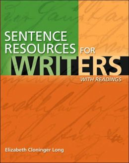 Sentence Resources for Writers, with Readings