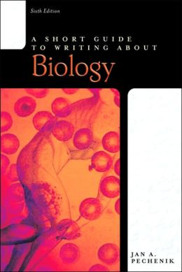 Short Guilde to Writing about Biology