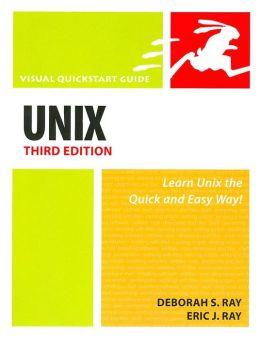 Unix (Visual QuickStart Series)