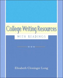 College Writing Resources (with MyWritingLab)