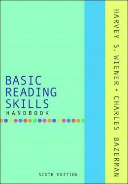 Basic Reading Skills Handbook (with MyReadingLab)