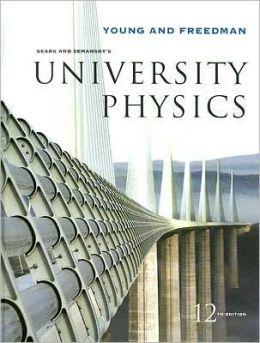 University physics with modern physics 12th edition pdf