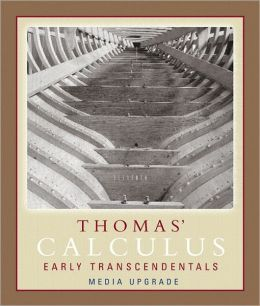 Thomas' Calculus, Part One: Early Transcendentals, Media Upgrade