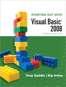 Starting out With Visual BASIC 2008 - With 2 CD's
