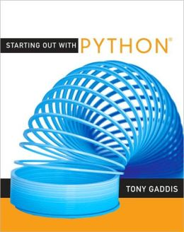 Starting Out with Python [With CDROM]