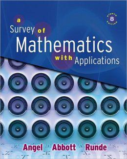 Survey of Mathematics with Applications Value Pack (includes Math Study Skills & MyMathLab/MyStatLab Student Access Kit )