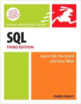SQL, Third Edition (Visual QuickStart Guide Series)