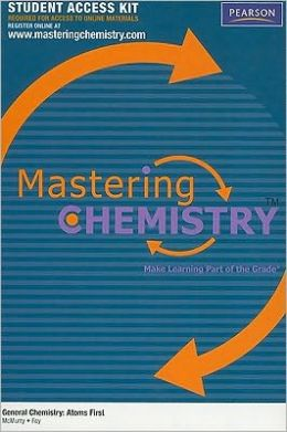 MasteringChemistry Student Access Kit for General Chemistry: Atoms First