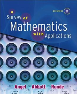 Survey of Math With Application -Expanded Edition-Package